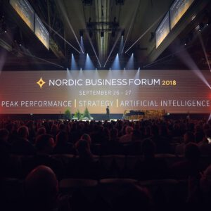 Photo credit: © Nordic Business Forum