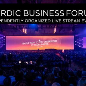 Alumniyhdistyksen itsenäisesti järjestetty Nordic Business Forum suoralähetys 2019.